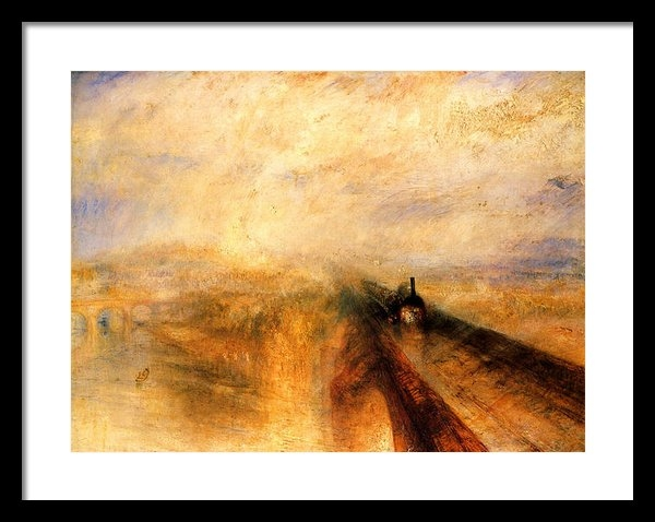 J M W Turner - Rain Steam and Speed.  Print
