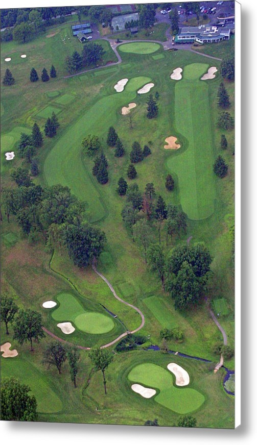 Duncan Pearson - 9th Hole Sunnybrook Golf ... Print