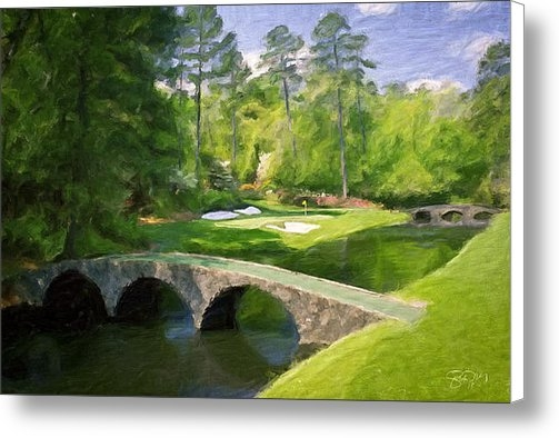 Scott Melby - Augusta National Hole 12 ... Print