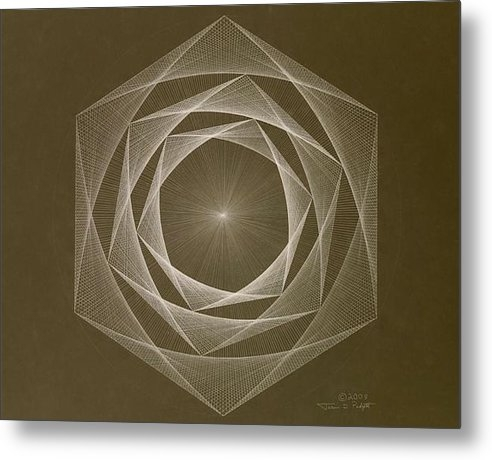 Jason Padgett - Inverted Energy Spiral Print