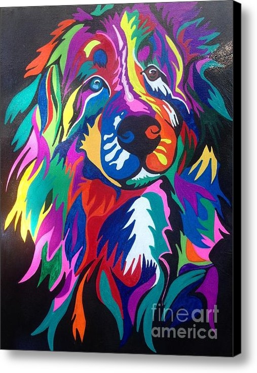 Angela Kaiser - Bernese Mountain Dog Print