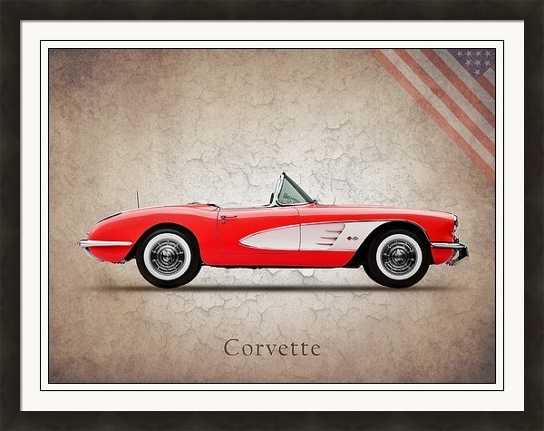 Mark Rogan - Chevrolet Corvette Print