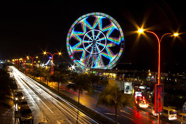 Troy Espiritu - Merry Ferris Wheel Print