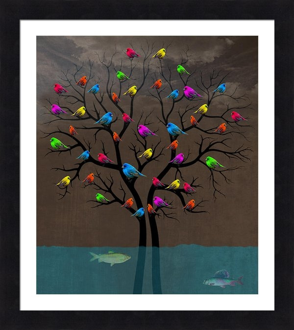 Mark Ashkenazi - Birds Print