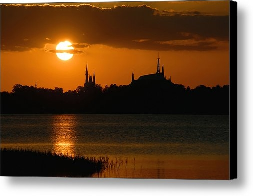 David Lee Thompson - Magic Kingdom Sunset Print