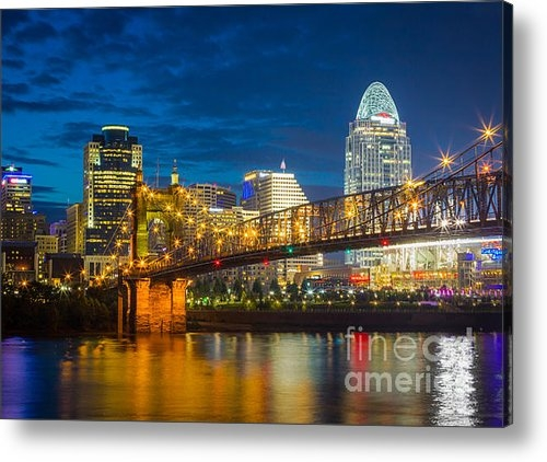 Inge Johnsson - Cincinnati Downtown Print