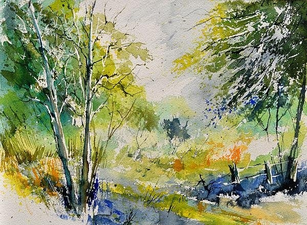 Pol Ledent - Watercolor 414061 Print