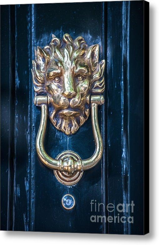 Dale Powell - Brass Door Knocker Print