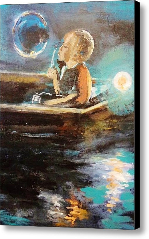 Shannon Lee - Bubbles on the lake Print