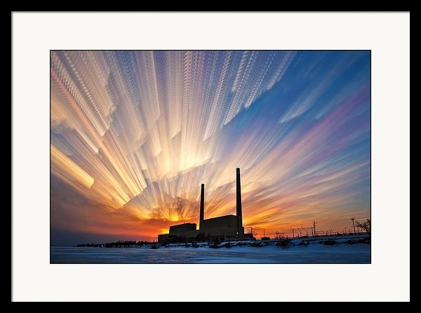 Matt Molloy - Power Plant Print