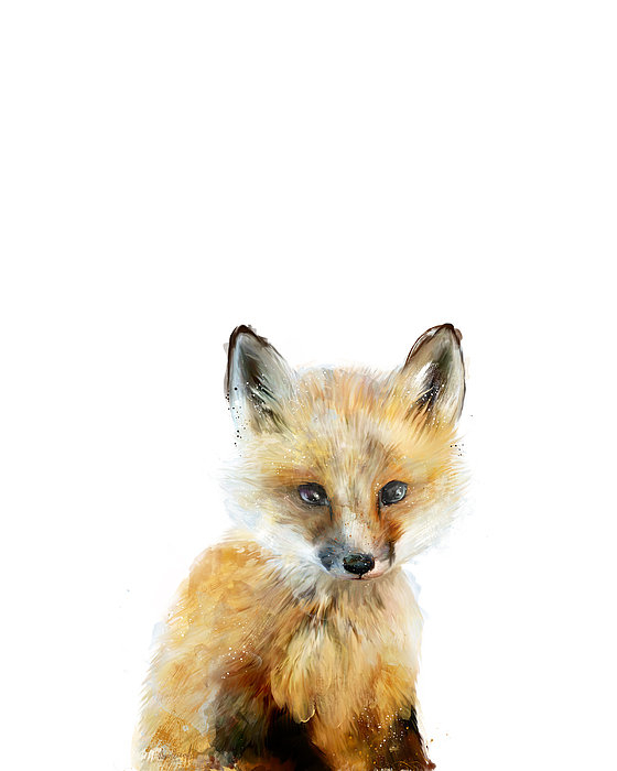 Amy Hamilton - Little Fox Print