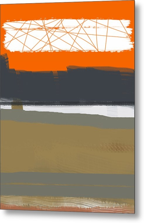 Naxart Studio - Abstract Orange 1 Print