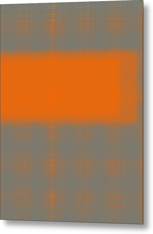 Naxart Studio - Abstract Orange 3 Print