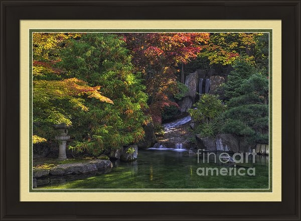 Mark Kiver -  Nishinomiya Japanese Gar... Print