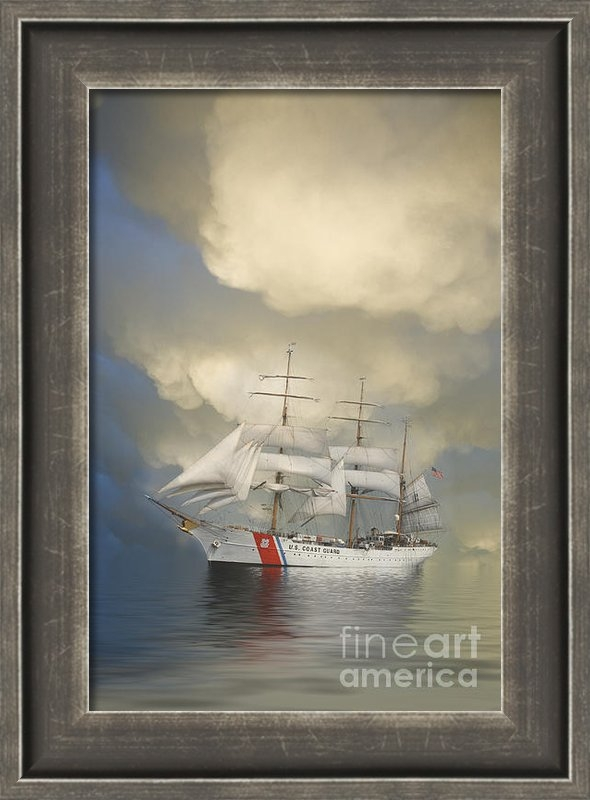 Jerry McElroy - Coast Guard Cutter Eagle Print