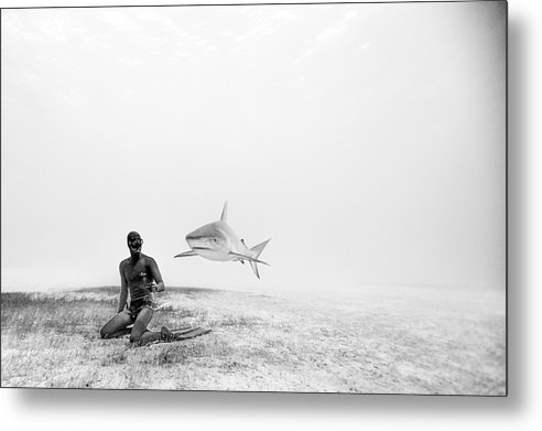 One ocean One breath - Levitation Print