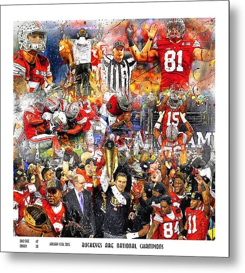John Farr - Ohio State National Champ... Print