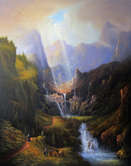 Joe Gilronan - Rivendell. The Last Homel... Print