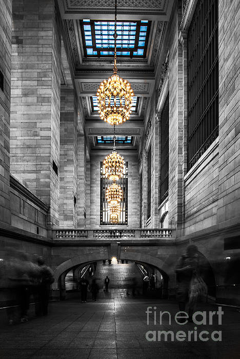 Hannes Cmarits - Grand Central Station III... Print