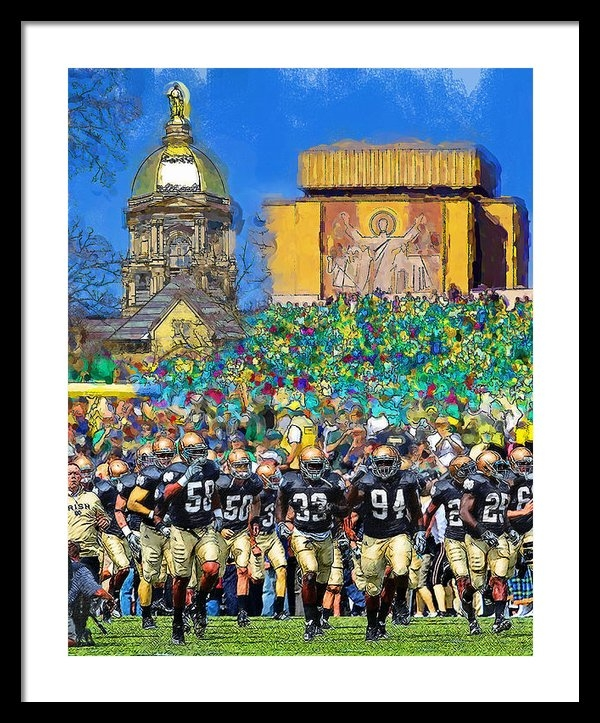 John Farr - Irish Run to Victory Print