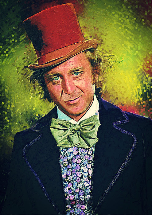 Taylan Soyturk - Willy Wonka Print