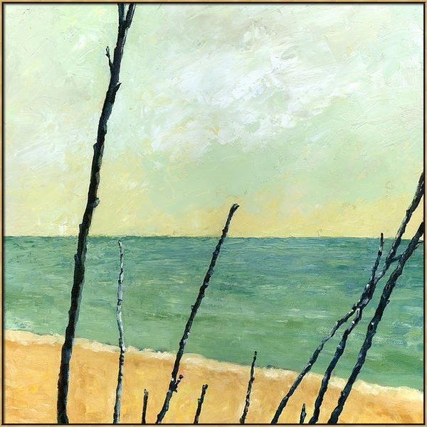 Michelle Calkins - Branches on the Beach - O... Print
