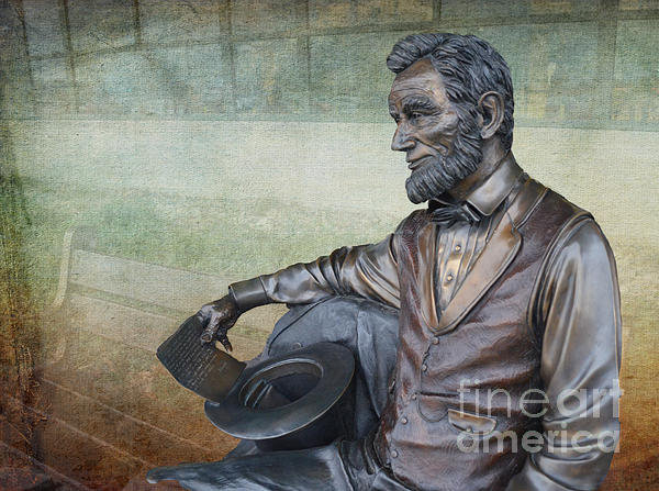 Luther   Fine Art - History - Abraham Lincoln... Print