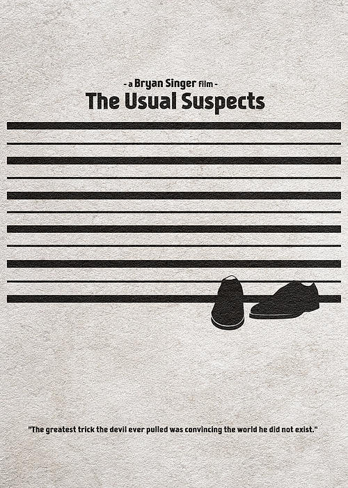 Ayse Deniz - The Usual Suspects Print