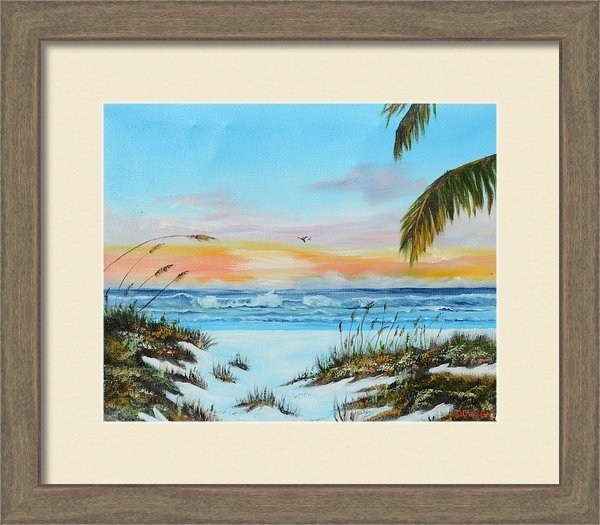 Lloyd Dobson - Why Not Siesta Key Print