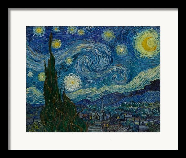 Vincent Van Gogh - Starry Night Print