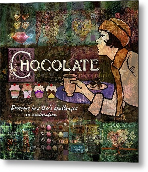 Evie Cook - Chocolate Print