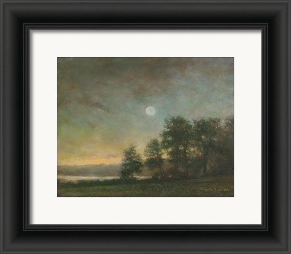 Wayne Daniels - Gypsy Bay Moonlight Print