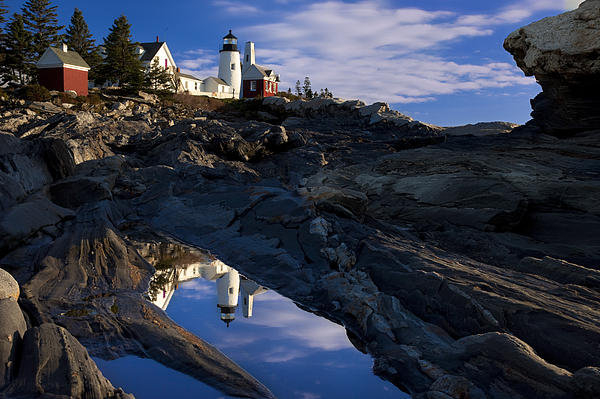 Brian Jannsen - Pemaquid Point Lighthouse Print