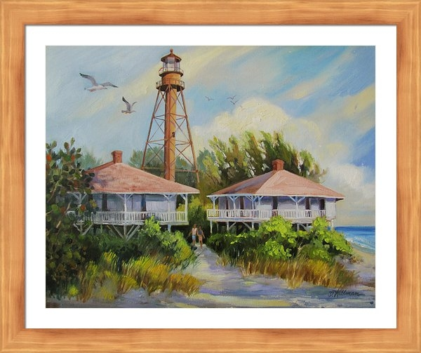 Dianna  Willman - Sanibel Lighthouse Print