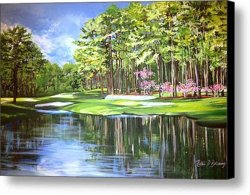 Robbie Bellamy - The 16th in Augusta Print