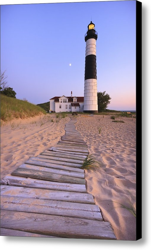 Adam Romanowicz - Big Sable Point Lighthous... Print