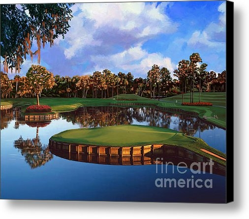 Tim Gilliland - Sawgrass 17th Hole Print