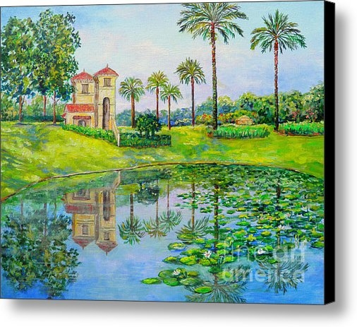 Lou Ann Bagnall - Tuscana Reflection Print