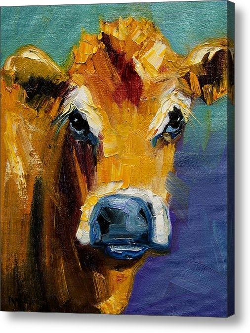 Diane Whitehead - Blue Nose Cow Print