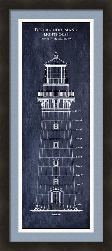 Sara Harris - Destruction Island Lighth... Print