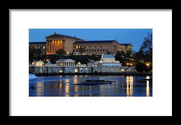 Gary Whitton - Philadelphia Art Museum a... Print