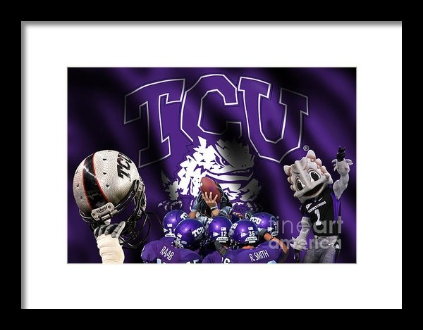 Randy Smith - TCU - Fear the Frogs Print