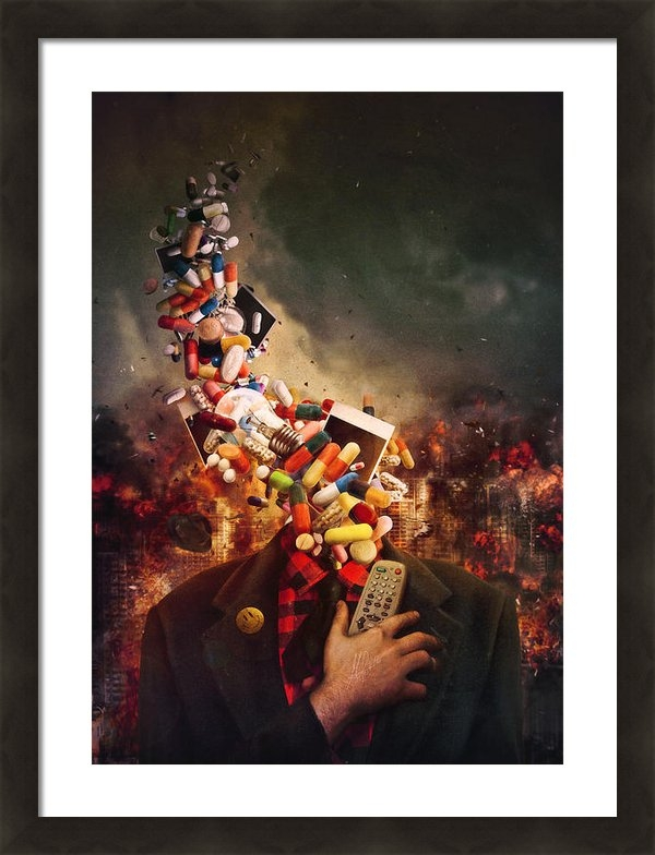 Mario Sanchez Nevado - Comfortably Numb Print