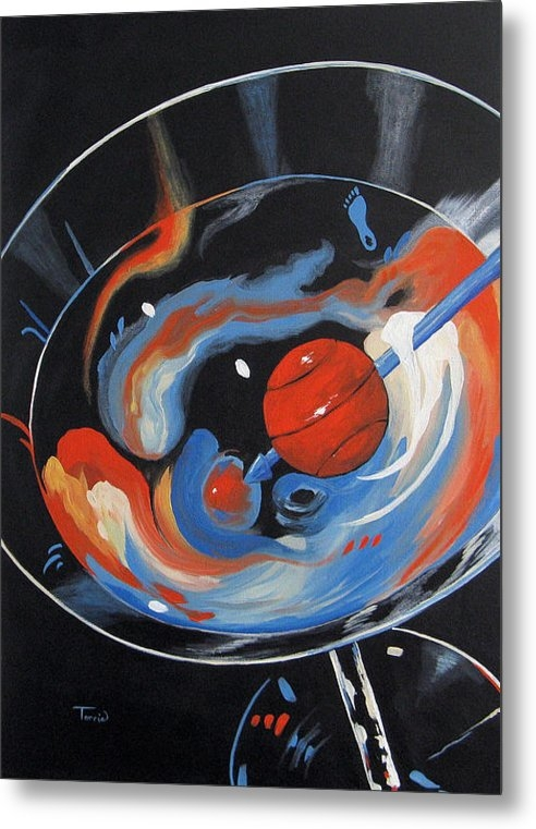 Torrie Smiley - Tar Heel Martini 2011 Print