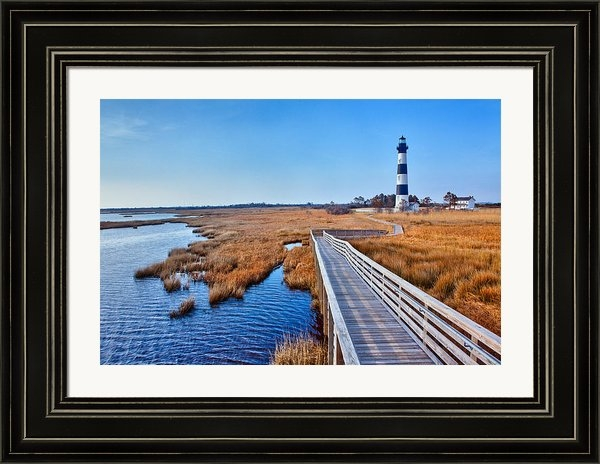 Dan Carmichael - Bodie Lighthouse Outer Ba... Print