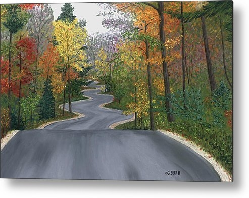 George Burr - Road to Northport Print