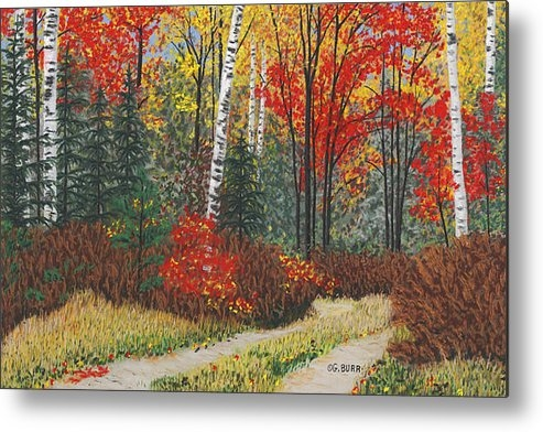 George Burr - Birch Trail Print